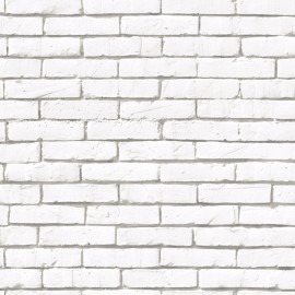 BRICK WALL WHITE