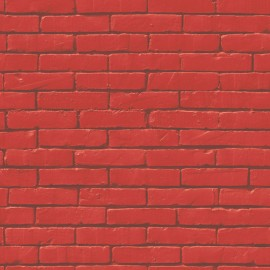 BRICK WALL RED